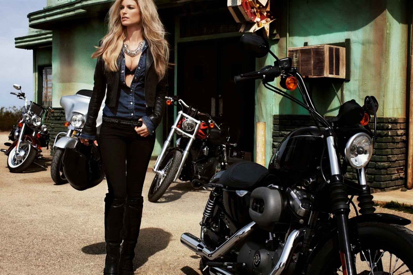 Harley Davidson: Motographite: MARISA MILLER FOR HARLEY DAVIDSON
