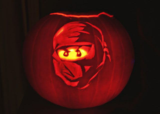 ninjago pumpkin template  Lego Ninjago pumpkin carving | Pumpkin carving, Halloween ...