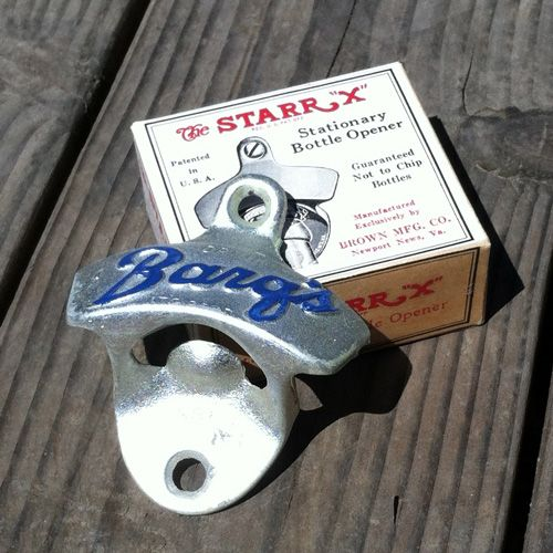 Starr X wall mount bottle opener NEW IN BOX BARQ/'S ROOTBEER SODA