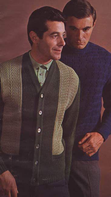 Abiti Eleganti Anni 60 Uomo.Men S Sweaters 1966