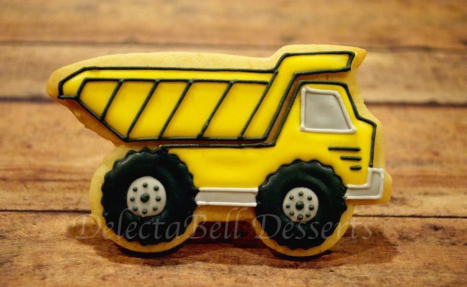 Dump Truck Cookies Www Facebook Com Delectabell