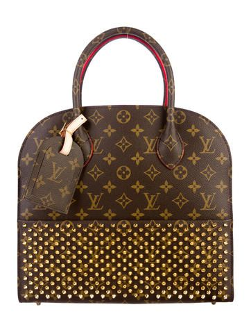 Louis Vuitton X Christian Louboutin Shopping Bag Louis Vuitton Luxury Purses