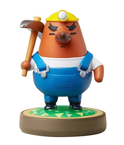 Mr. Resetti amiibo (Animal Crossing Series). Read more at: http://videogames4everyone.com/accessories/mr-resetti-amiibo-animal-crossing-series-nintendo-wii-com/