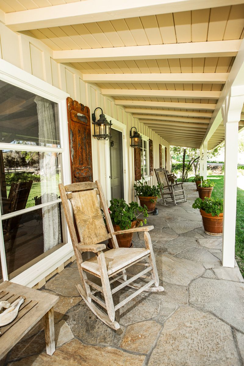 Rocking Chairs Front Porch Ideas