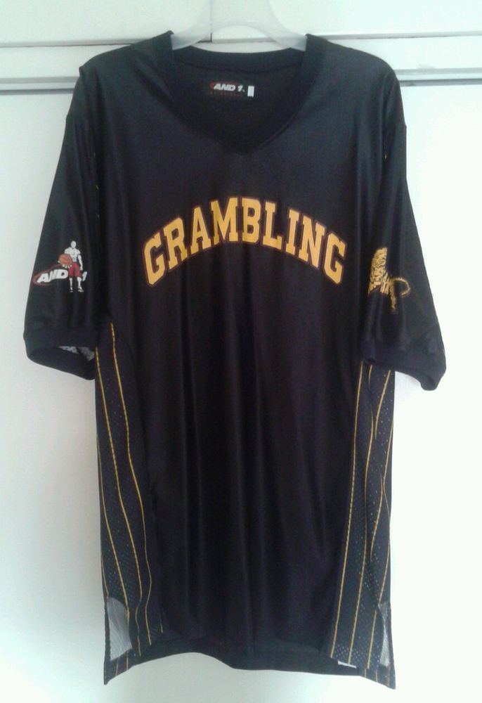 uk availability bc4ea 928a2 Vintage Grambling State Tigers HBCU And 1 Black Basketball ...