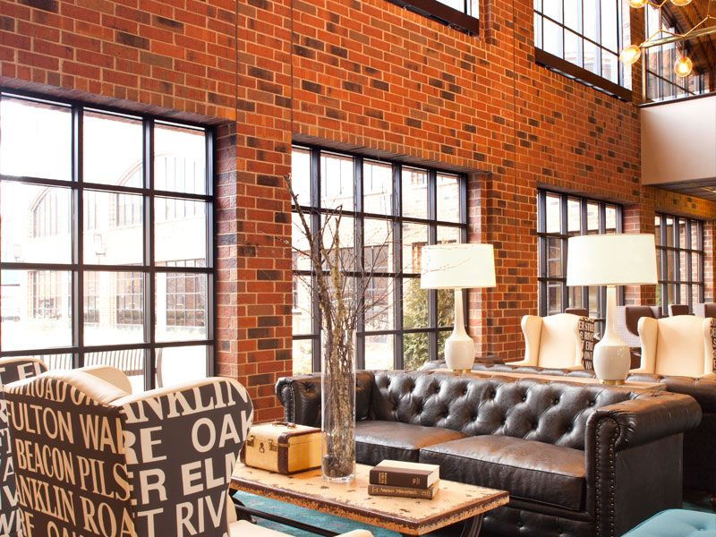 The Commons Hotel Brings An Schoolhouse Vibe To Heart Of Minneapolis Conveniently Located