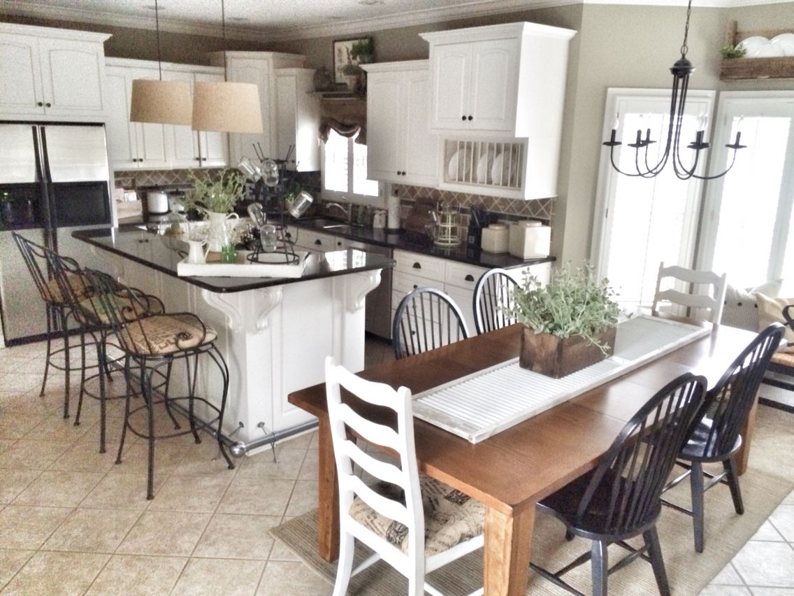 Farmhouse kitchen! | Bless This Nest Blog | Pinterest ...