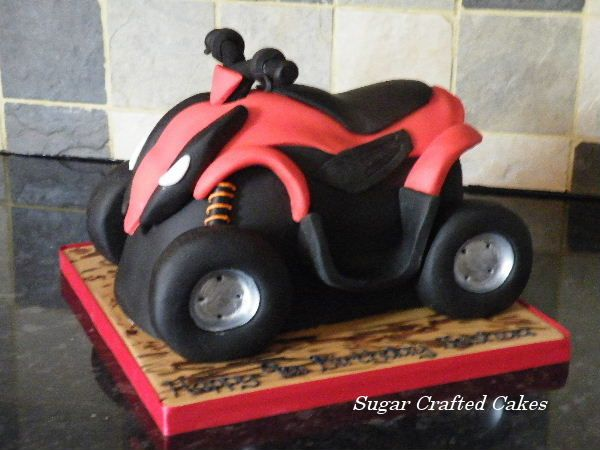 quad bike sugar crafted cakes based in ripon north yorkshire covering harrogate knaresborough