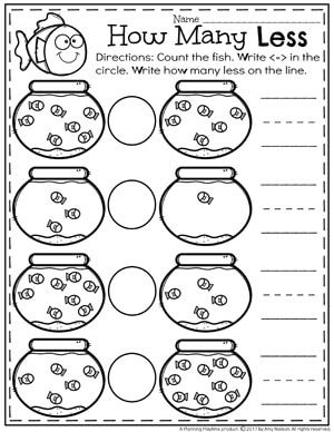comparing numbers worksheets learning kindergarten math worksheets kindergarten math. Black Bedroom Furniture Sets. Home Design Ideas