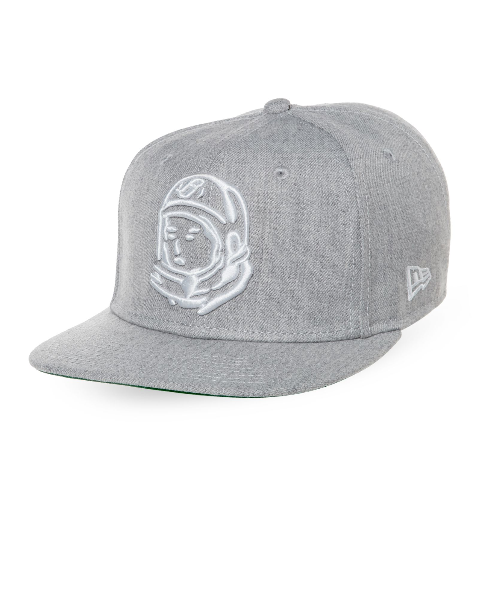 88de9f2a6ad Billionaire Boys Club Heather Grey Astronaut Logo Baseball Cap