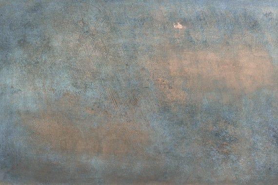 Kitchen splashback aged copper effect #kitchensplashbacks