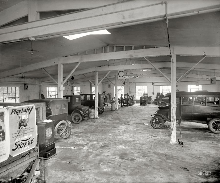 1925 Montgomery County Motor Co Ford Dealership Rockville