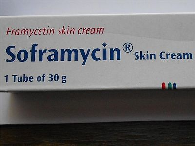 5*SOFRAMYCIN SKIN CREAM FOR BURNS WOUNDS CUTS ULCERS BOILS