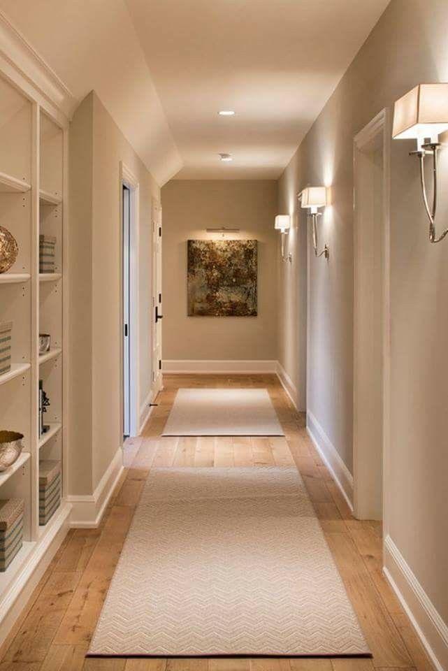 Le vernici bio, sotto forma di colori a calce per interni e le vernici termoisolanti che rispettano l'. Corridoio Libreria Luci Arredamento Corridoio Interior Design Per La Casa Arredamento Ingresso Corridoio