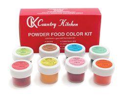 CK 8 Powdered Food Color Kit | Dessert | Pinterest | Color kit, Food ...