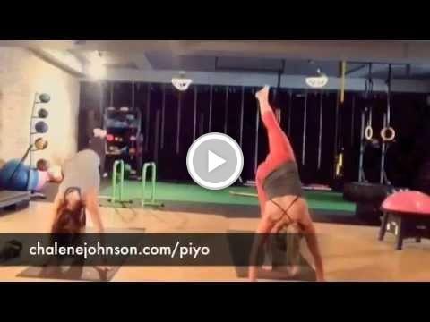 Free Video - PiYo Workout Moves @ChaleneJohnson