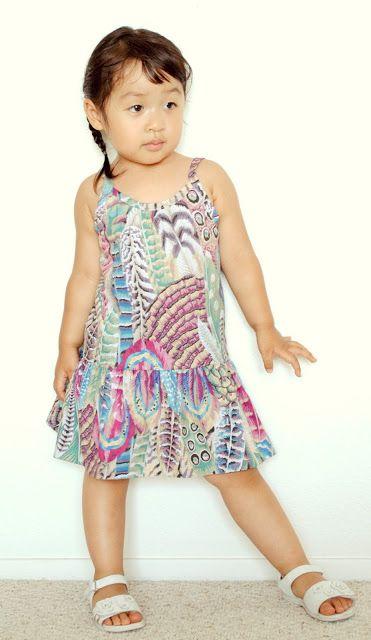 Suburbia Soup: Baby Slip Dress Pattern, free 6mo-6yr.