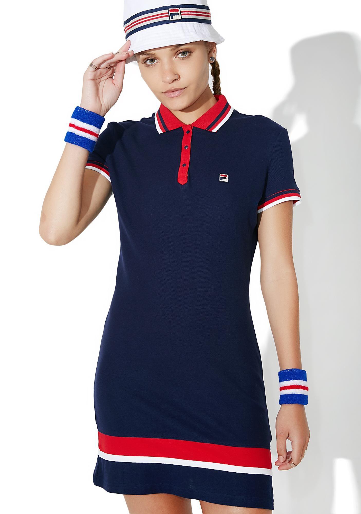 1797f5caa795 Fila Jennifer Dress will have yew feelin' like the next tennis queen, babe.