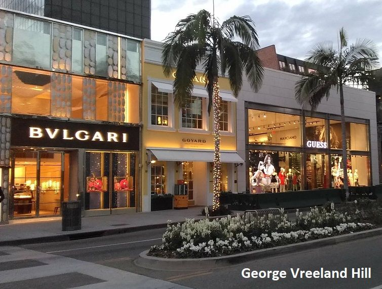 Rodeo Drive In Beverly Hills California Photo By George