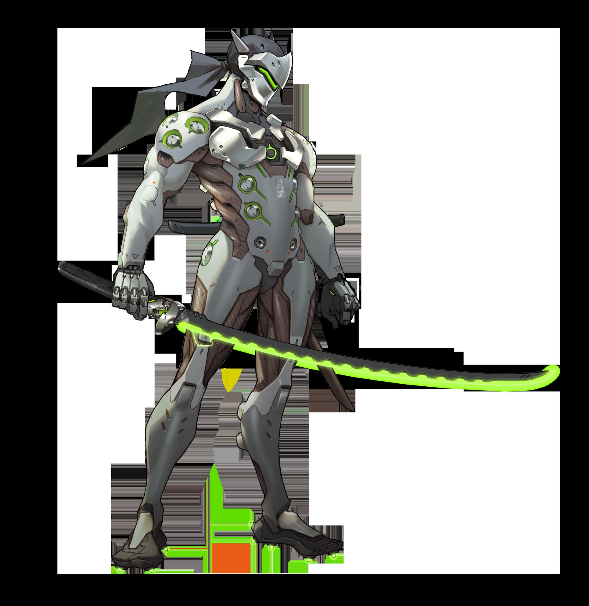 Google themes overwatch - Overwatch Genji