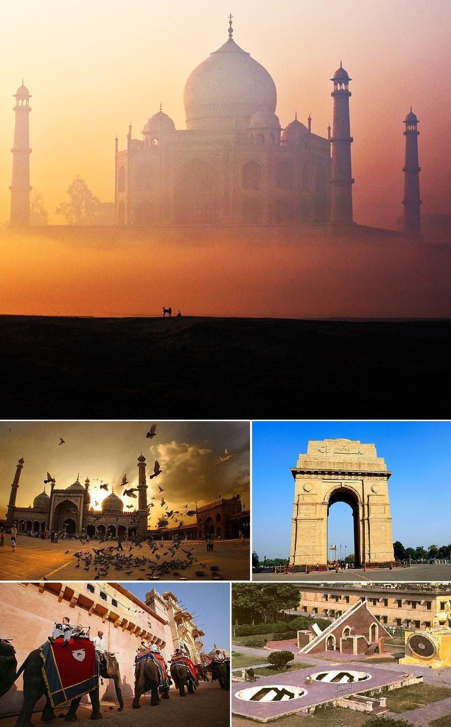 Goldentriangletourpackage5n6d north india tour