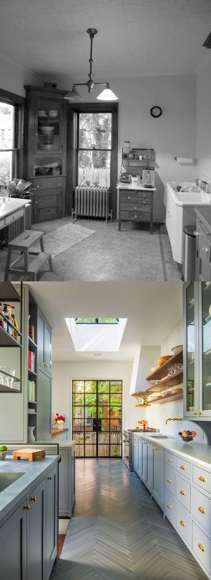 Before and After: 1910 Brooklyn Kitchen Remodel | The desirable ...