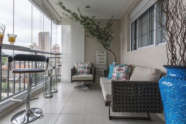 Decoracion de balcones y terrazas pequeñas - 99 ideas geniales