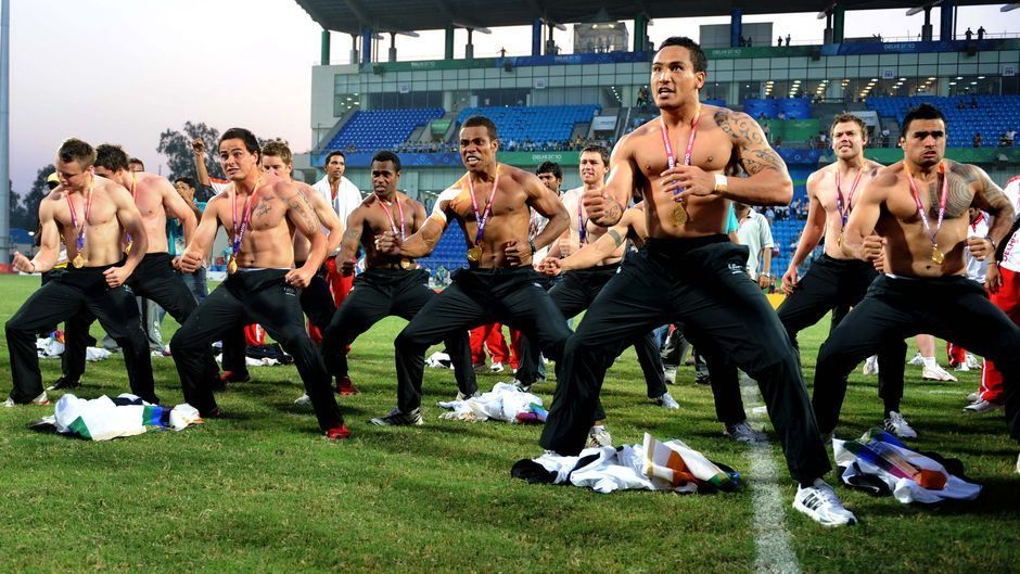Gold medal haka from the Kiwis Commonwealth games, New