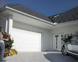 Porte De Garage Enroulable Sur Mesure En Aluminium Nao Porte