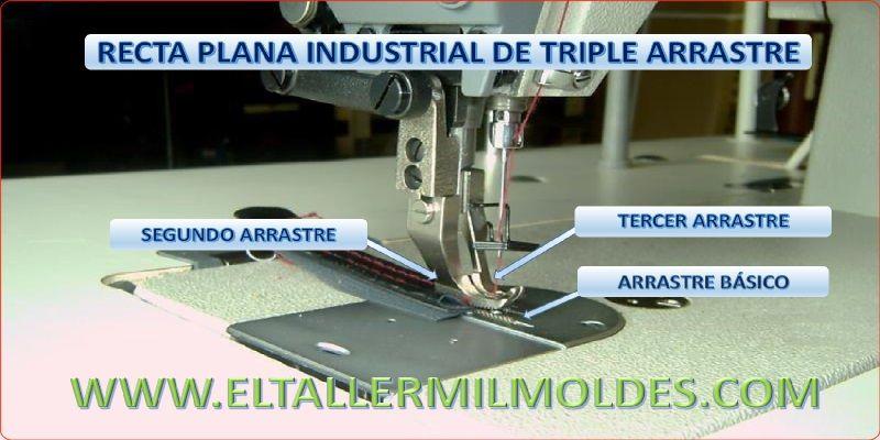Maquina De Coser Recta Industrial De Triple Arrastre Máquinas De Coser Industriales Maquina De Coser Agujas De Coser