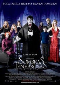 Sombras Tenebrosas Dark Shadows #Cine