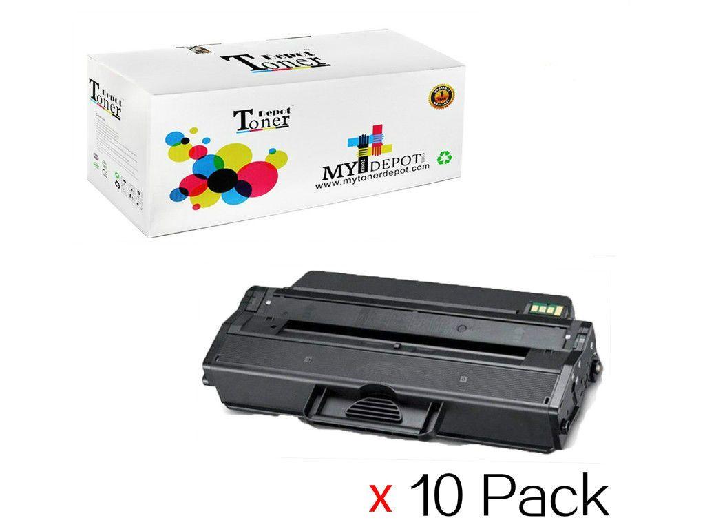 10PK Compatible Dell 1260 Black Toner Cartridge For Dell B1260 / B1260W / B1265