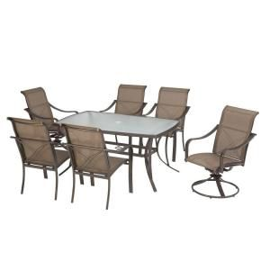 Martha Stewart Living Grand Bank 7 Piece Patio Dining Set DY4067 7PC At