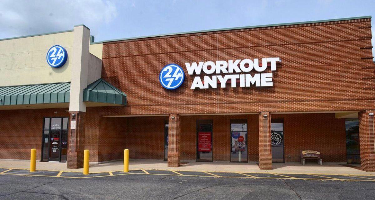 Hickory North Carolina Anytime Fitness Workout Gym Franchise