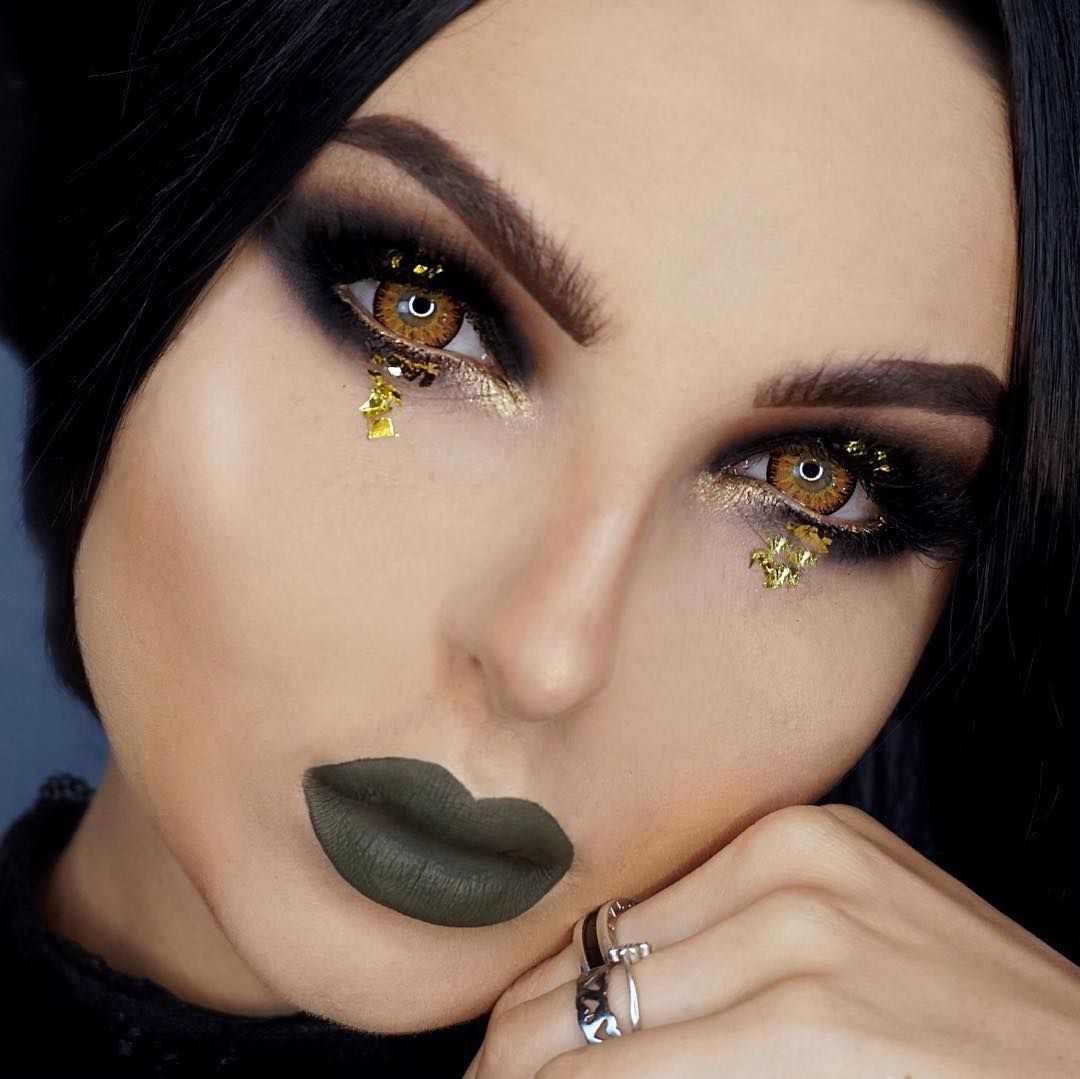 TTDeye Mystery Yellow Colored Contact Lenses in 2020 ...