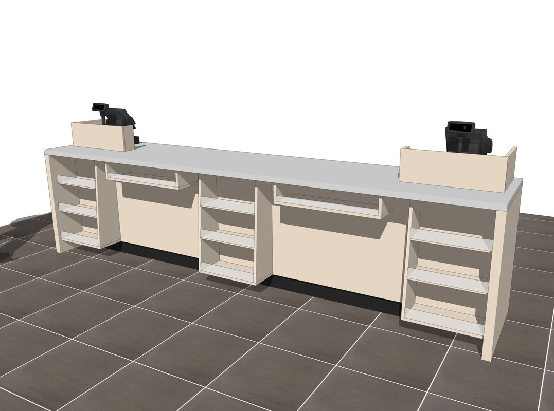 S Counter Design Concepts Retail