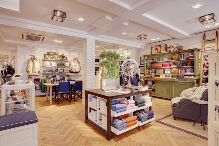 GANT flagship store by PRIMA, Munich Germany