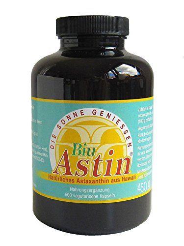 Astaxanthin - BiuAstin 600 vegetarische Kapseln 4mg natürliches Astaxanthin - versandkostenfrei aus Deutschland Biuastin http://www.amazon.de/dp/B00B6EITKC/ref=cm_sw_r_pi_dp_L3nxvb02HJ8RF