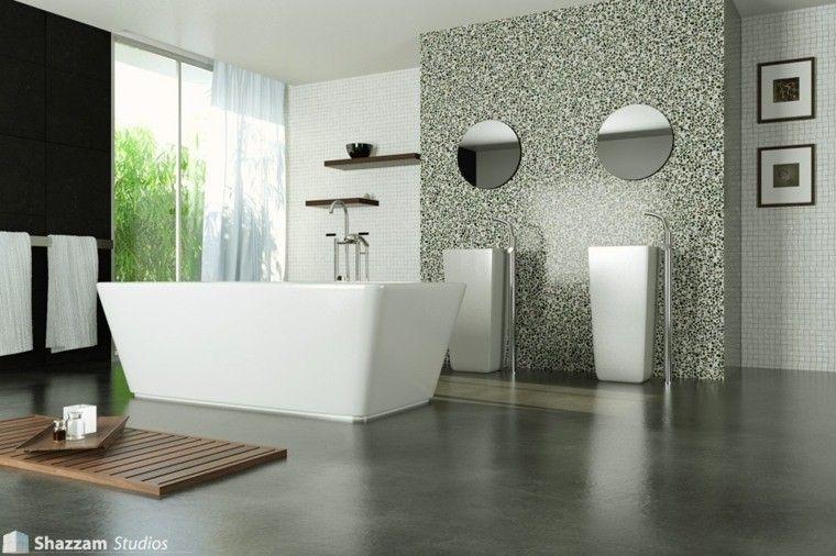 Cemento como tendencia de decoraci n para interiores for Cera de hormigon para azulejos de bano