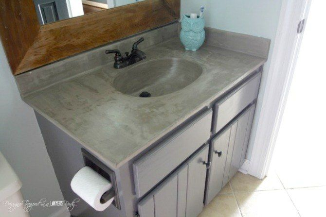 11 low cost ways to replace or redo a hideous bathroom on replacement countertops for bathroom vanity id=68776