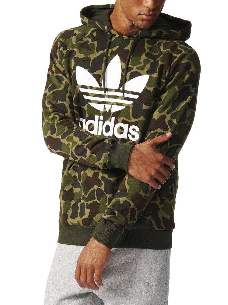 best service f0078 65417 adidas Trefoil Hoody - Camo – West Brothers adidas trefoil hoody hoodie  camo