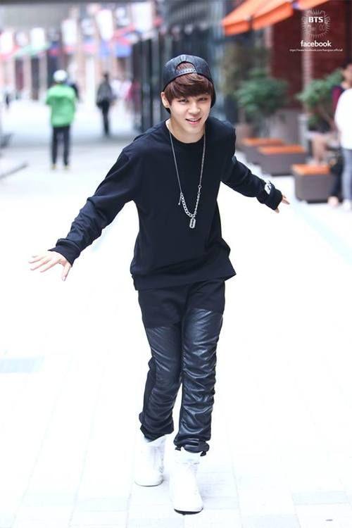 Jimin, from the group 방탄소년단, Korea