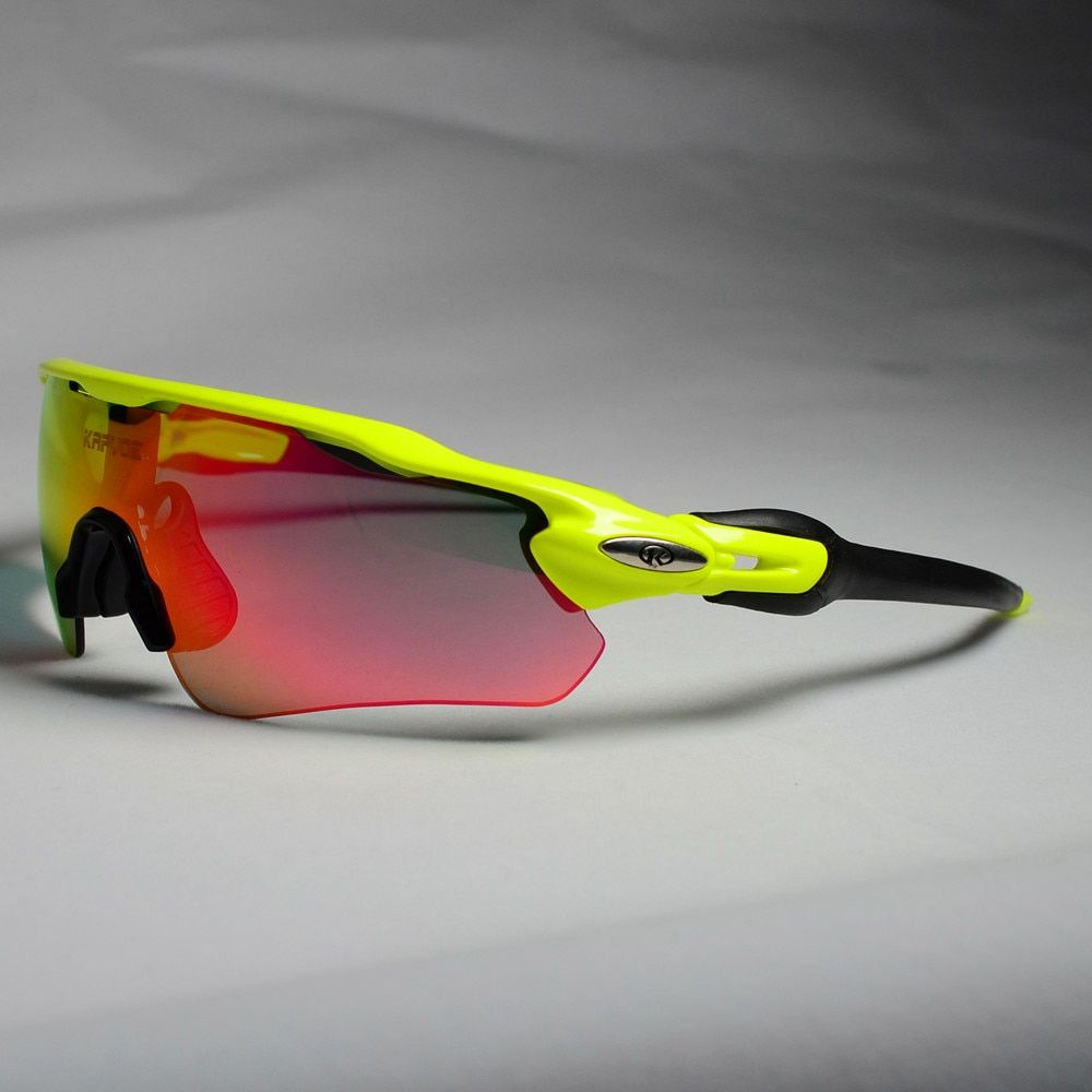Polarized Cycling Sunglasses 5 Lens RX Insert Cycling