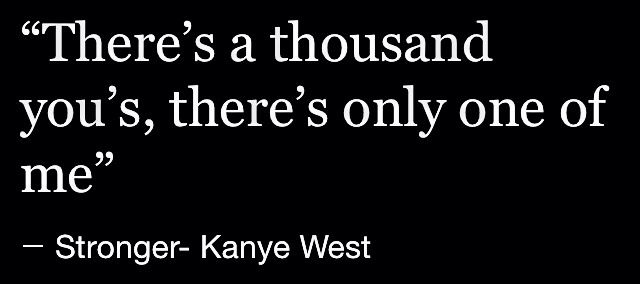 Kanye West Lyrics Zitate Musik This Is Your Life