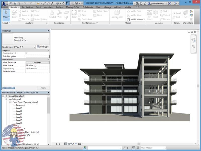 Autodesk Advance Steel 2019 Level Ii Buildings Revit