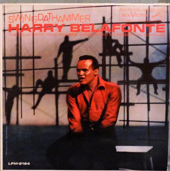 Harry Belafonte –Swing Dat Hammer 1960 ( LP, Album, Vinyl Record