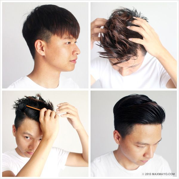 How To Style Slicked Back Undercut Men s Fashion