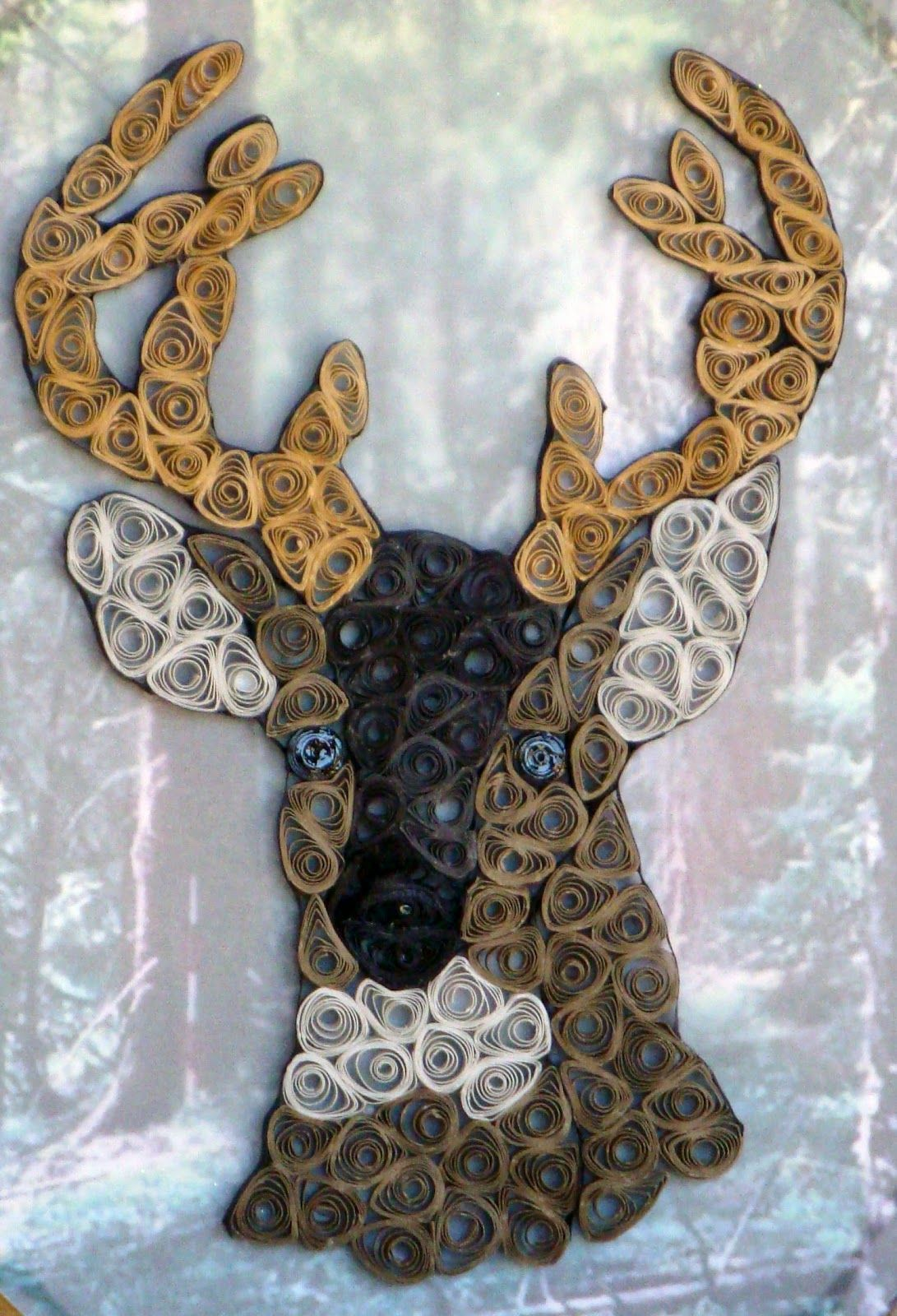 Deer Head   Ready For Hanging Or Standing   Wonderful Gift For That Special  Hunter In Your Family.