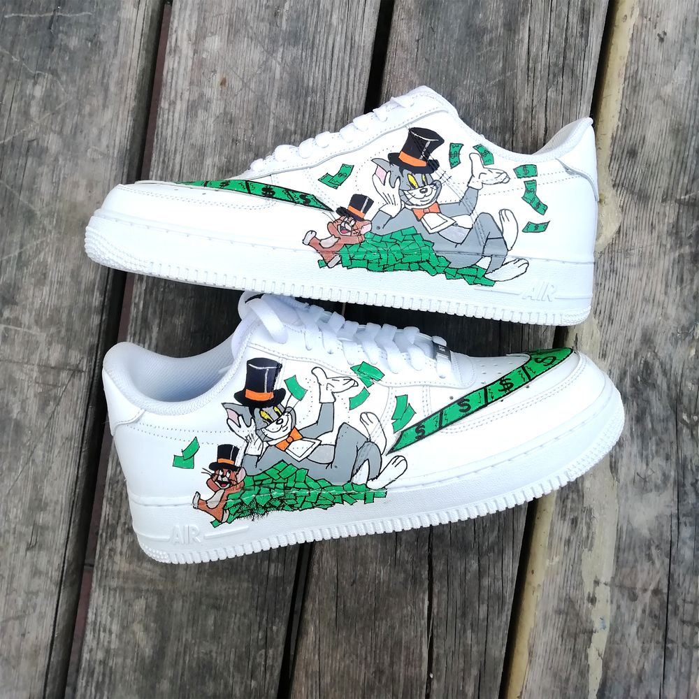 nike air force indossate