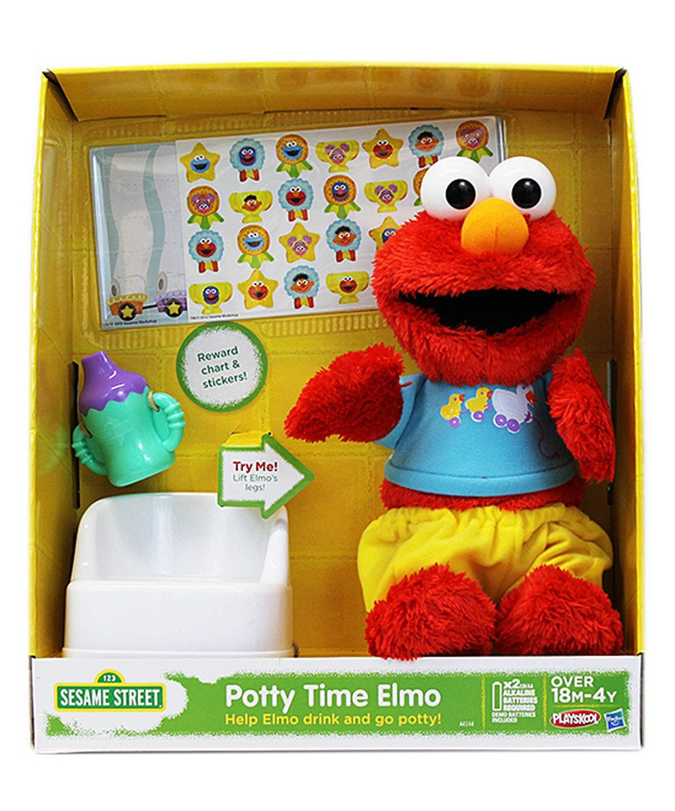 love this potty time elmo educational toy by sesame street on  zulily   zulilyfinds